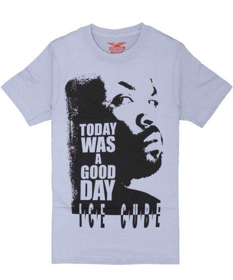 アイス キューブ ( Ice Cube ) TODAY WAS A GOOD DAY バンドTシャツカラー:ブルー<br>サイズ:M<br>Today was a good day.