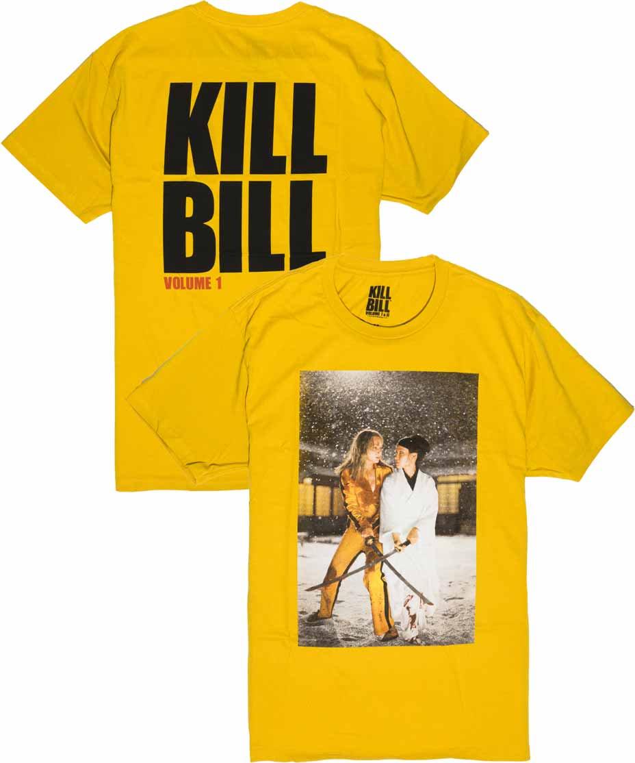 キルビル ( Kill Bill ) 映画 ファイナルバトル メンズTシャツ