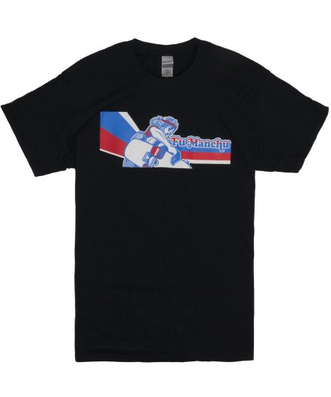 Fu Manchu New Alva バンドTシャツカラー:ブラック<br>サイズ:M〜XL<br>The Action is Goのイメージ