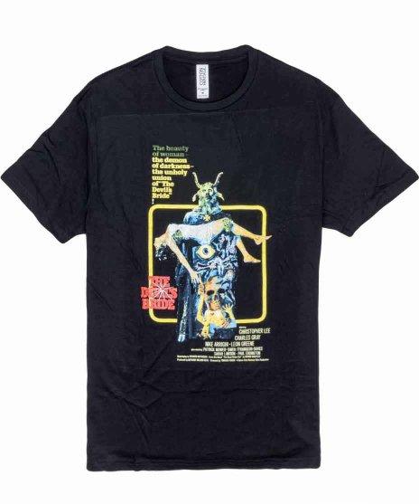 The Devil's Bride 映画 メンズTシャツカラー:BLK <br>サイズ:M,L<br>ポスターデザイン。