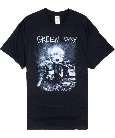 グリーン デイ ( Green Day ) Nuke バンドTシャツカラー:ブラック<br>サイズ:M,L,XL<br>Nukeデザインです。