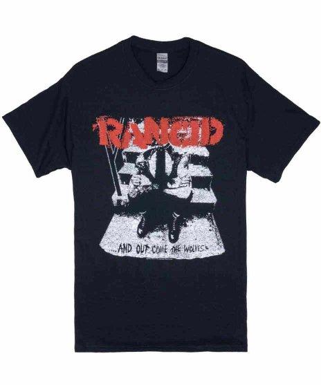 ランシド ( Rancid ) And Out Come The Wolves バンドTシャツ 【ブラック】カラー:ブラック<br>サイズ:S〜L<br>And Out Come The Wolves