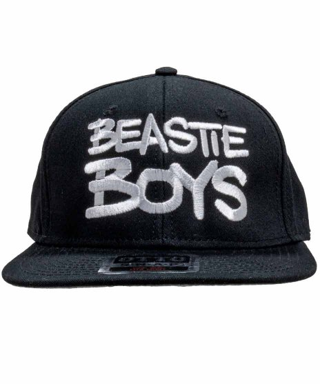 ビースティ ボーイズ ( Beastie Boys ) 6パネルスナップバックキャップ Check Your Headカラー:ブラック<br>サイズ:ワンサイズ<br>Checki Your Headのバンドロゴキャップ