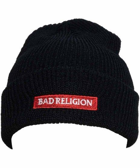 バッド レリジョン ( Bad Religion ) ビーニー クラシックロゴカラー:ブラック<br>サイズ:フリー<br>クラシックロゴビーニー