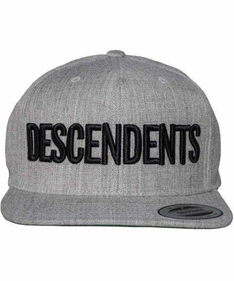 ディセンデンツ ( Descendents ) 6パネルスナップバックキャップ  クラシックロゴカラー:ブラック<br>サイズ:フリー<br>クラシックロゴキャップ