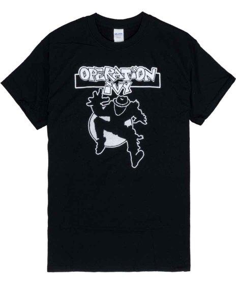 オペレーション アイヴィー ( Operation Ivy )バンドTシャツ クラシック Ska Man カラー:ブラック<br>サイズ:S〜L<br>クラシックSlka Manのデザイン
