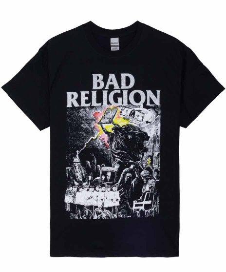 バッド レリジョン ( Bad Religion ) バンドTシャツ All Ages IIカラー:ブラック<br>サイズ:S〜XL<br>All Ages II