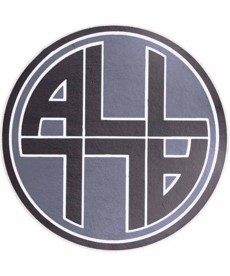 ALL バンドステッカー サークルロゴカラー:フルカラー<br>サイズ:10 × 10.cm<br>ALLサークルロゴステッカー
