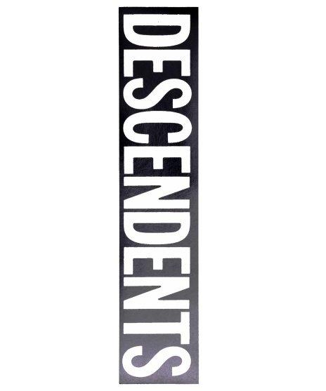 Descendents バンドロゴステッカーカラー:ブラック×ホワイト<br>サイズ:約18 × 3.8cm<br>Descendentsバンドロゴステッカー