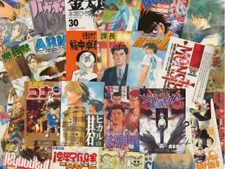 【送料無料】少年コミックアソート 3箱セット(1箱80〜90冊)