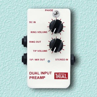 TRIAL / DUAL INPUT PREAMP<br>(ノーマルモデル)