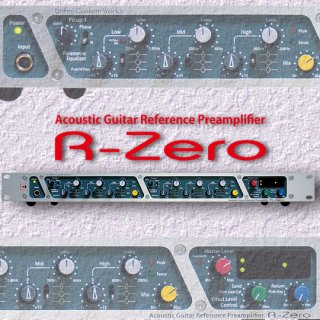 R-Zero<br>Acoustic Guitar Reference Preamplifier