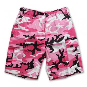 ROTHCO/ロスコ/ROTHCO BDU SHORT P/C/ショーツ/COLOR(PINK CAMO)/カラー(ピンクカモ)/SHORT PANTS XSサイズ