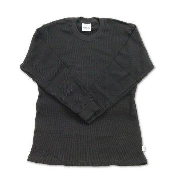 プロクラブ PRO CLUB Heavy Weight サーマル ロングTシャツ BLACK ブラック L/S TSHIRTS Sサイズ