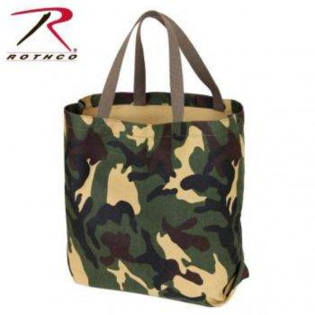 ロスコ ROTHCO Canvas Camo And Solid Tote Bag トートバッグ Woodland カモ BAG