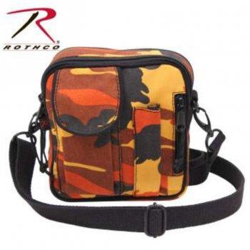 ロスコ ROTHCO Camo Excursion Organizer Shoulder Bag ショルダーバッグ Savage Orange Camo オレンジカモ BAG