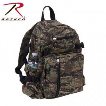 ロスコ ROTHCO Vintage Canvas Compact Backpack バックパック リュック Smokey Branch Camo スモーキーブランチカモ BAG