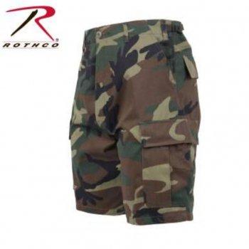 ロスコ ROTHCO Camo BDU Shorts ショーツ Woodland Camo カモ SHORT PANTS Mサイズ
