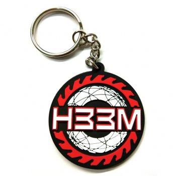ヒーム H33M TRUST RUBBER KEYCHAIN キーチェーン RED/BLACK レッド/ブラック OTHER GOODS