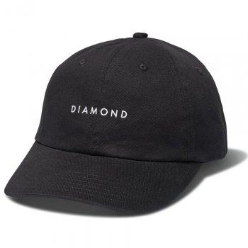ダイアモンドサプライ DIAMOND SUPPLY CO. LEEWAY SPORTS HAT キャップ BLACK ブラック CAP