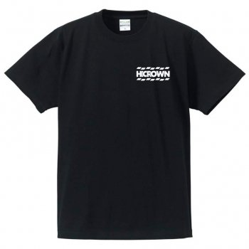 ハイクラウン HICROWN BRAND LOGO TEE Tシャツ BLACK ブラック S/S T-SHIRTS