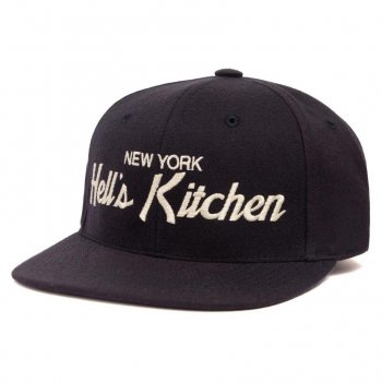 HOOD HAT Hell's Kitchen キャップ Snapback Navy ネイビー CAP