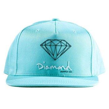 ダイアモンドサプライ DIAMOND SUPPLY CO. OG SIGN SNAPBACK キャップ DIAMONDBLUE ブルー CAP