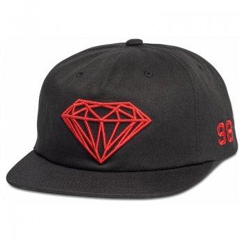 ダイアモンドサプライ DIAMOND SUPPLY CO. BRILLIANT SNAPBACK SU18 キャップ BLACK ブラック CAP