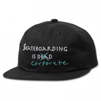 ダイアモンドサプライ DIAMOND SUPPLY CO. SKATE CRIME 6 PANEL STRAPBACK キャップ BLACK ブラック CAP