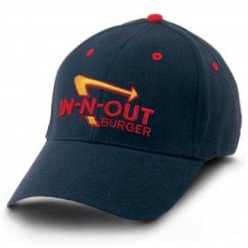インアンドアウトバーガー In-N-Out Burger TWILL STRETCH NAVY HAT キャップ NAVY ネイビー CAP