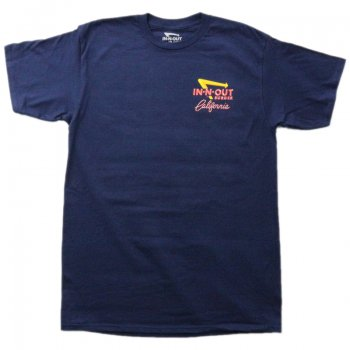 インアンドアウトバーガー In-N-Out Burger 2016 CLASSIC & FRESH NAVY Tシャツ NAVY ネイビー S/S T-SHIRTS