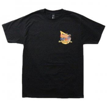 インアンドアウトバーガー In-N-Out Burger 2010 RACE FOR THE TASTE BLACK Tシャツ BLACK ブラック S/S T-SHIRTS