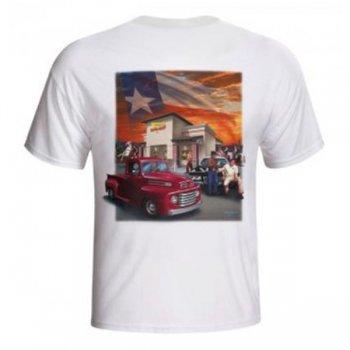 インアンドアウトバーガー In-N-Out Burger 2011 TEXAS Tシャツ WHITE ホワイト S/S T-SHIRTS