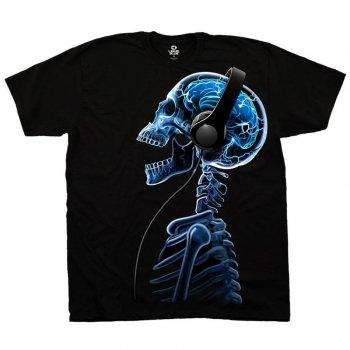 リキッドブルー LIQUID BLUE SKELEPHONES Tシャツ BLACK ブラック S/S T-SHIRTS