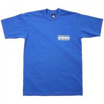 ハイクラウン HICROWN BRAND LOGO TEE Tシャツ ROYAL BLUE ロイヤルブルー S/S T-SHIRTS
