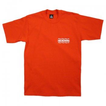 ハイクラウン HICROWN BRAND LOGO TEE Tシャツ ORANGE オレンジ S/S T-SHIRTS