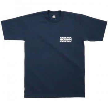 ハイクラウン HICROWN BRAND LOGO TEE Tシャツ NAVY ネイビー S/S T-SHIRTS