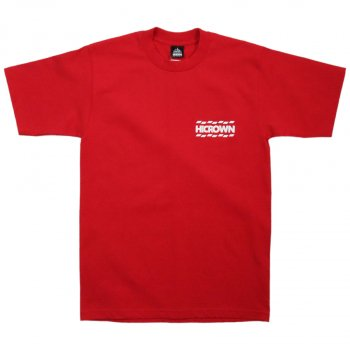 ハイクラウン HICROWN BRAND LOGO TEE Tシャツ RED レッド S/S T-SHIRTS