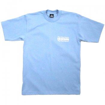 ハイクラウン HICROWN BRAND LOGO TEE Tシャツ SKY BLUE スカイブルー S/S T-SHIRTS