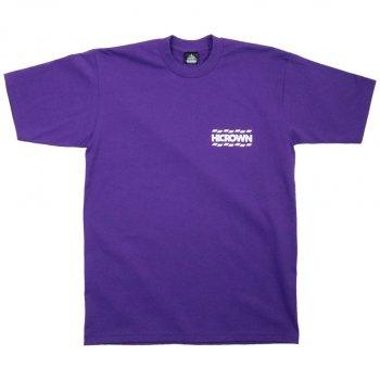 ハイクラウン HICROWN BRAND LOGO TEE Tシャツ PURPLE パープル S/S T-SHIRTS