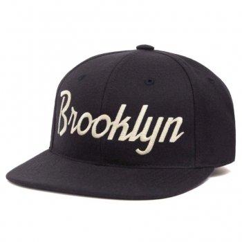 HOOD HAT Blooklyn キャップ Snapback NAVY ネイビー CAP