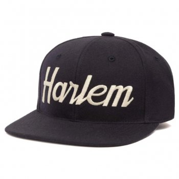 HOOD HAT Harlem キャップ Snapback NAVY ネイビー CAP
