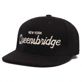 HOOD HAT Queensbridge キャップ Snapback BLACK ブラック CAP