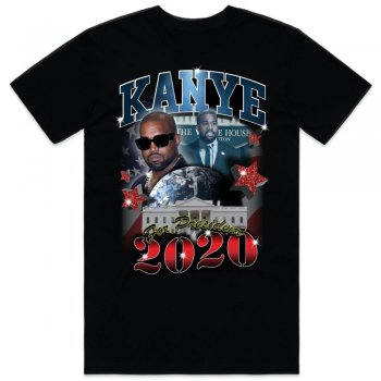 YEEZUS FOR PRES TEE Tシャツ BLACK ブラック S/S T-SHIRTS