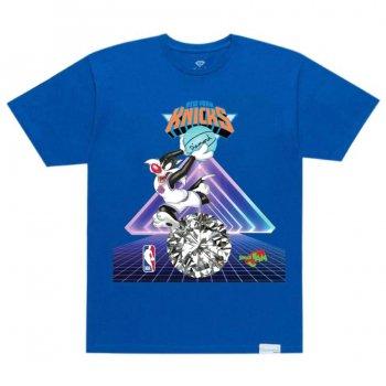 ダイアモンドサプライ DIAMOND SUPPLY CO. KNICKS TEE Tシャツ ROYAL BLUE ロイヤルブルー S/S T-SHIRTS