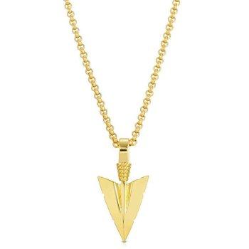 ザ・ゴールドゴッズ THE GOLD GODS Arrowhead Pendant ネックレス GOLD ゴールド NECKLACE
