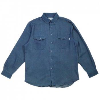 エピトミ EPTM. L/S DENIM SIDE ZIP SHIRT シャツ VINTAGE BLUE ブルー L/S SHIRTS