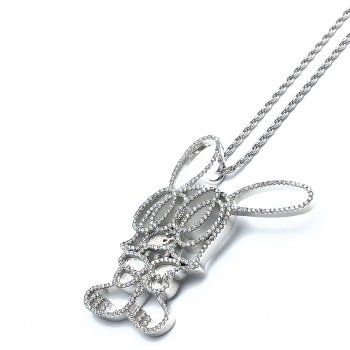 GHOST×SKOLOCT GHOSKO NECKLACE ネックレス SILVER シルバー NECKLACE
