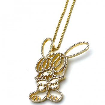 GHOST×SKOLOCT GHOSKO NECKLACE ネックレス GOLD ゴールド NECKLACE