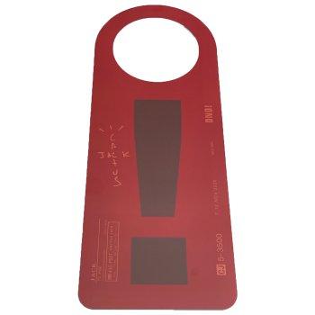 カクタスジャック CACTUS JACK DO NOT DISTURB DOOR HANGER RED/BROWN レッド/ブラウン OTHER